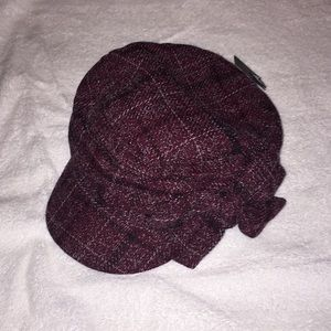 NWT, David and Young, plaid hat
